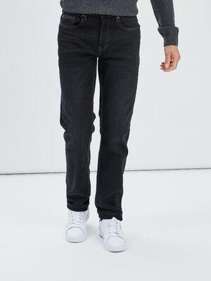 Jeans straight Creeks noir homme