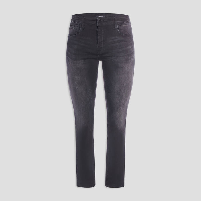 Jeans straight homme noir