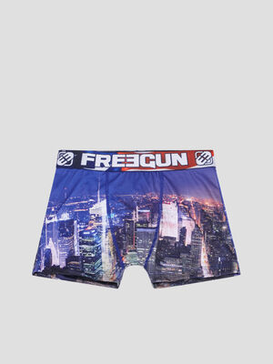 Boxer Freegun bleu roi garcon