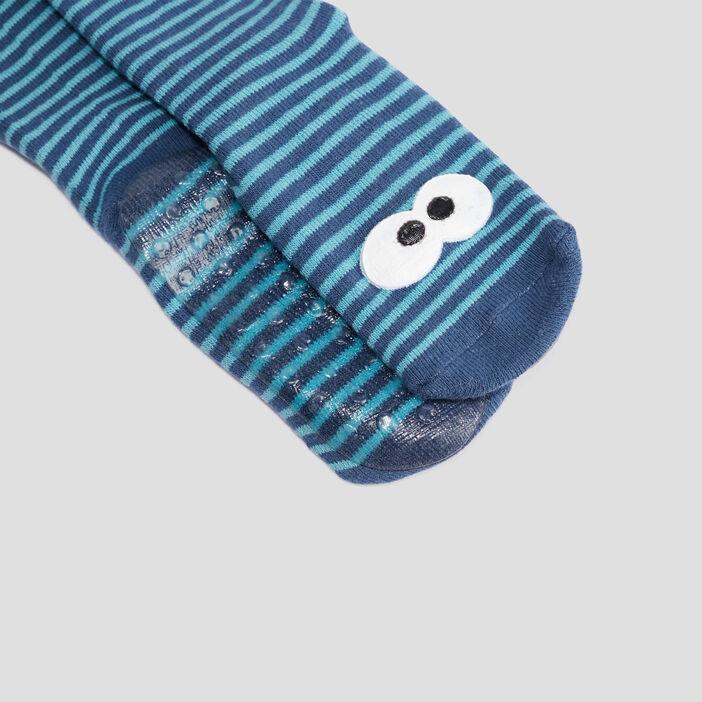 Chaussettes mixte bleu