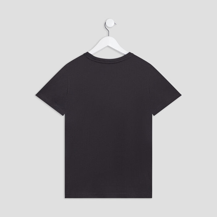 T-shirt Smileyworld garçon noir