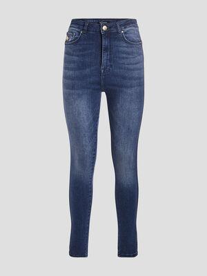 Jeans slim effet push up denim double stone femme