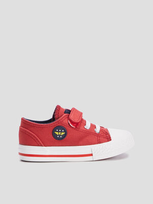 Baskets tennis rouge bebeg