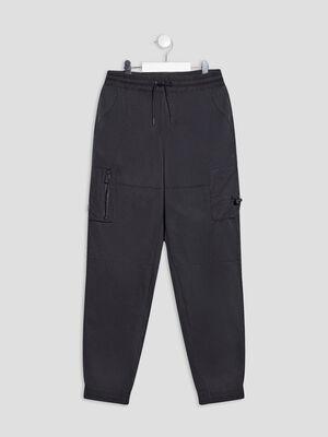 Pantalon battle noir garcon