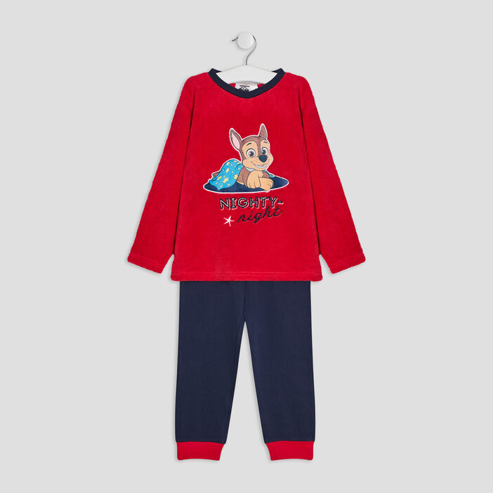 Ensemble pyjama Paw Patrol garçon bleu marine