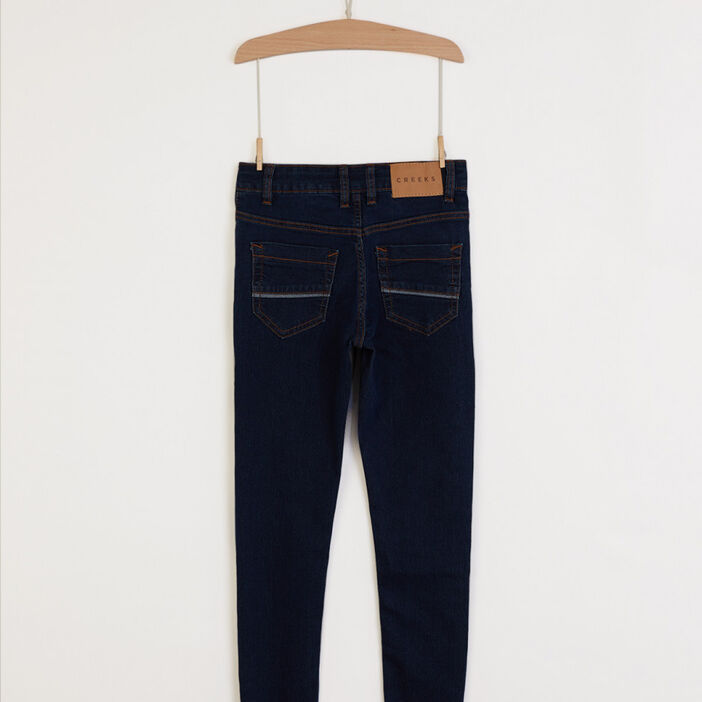 Jeans slim Creeks garçon denim brut