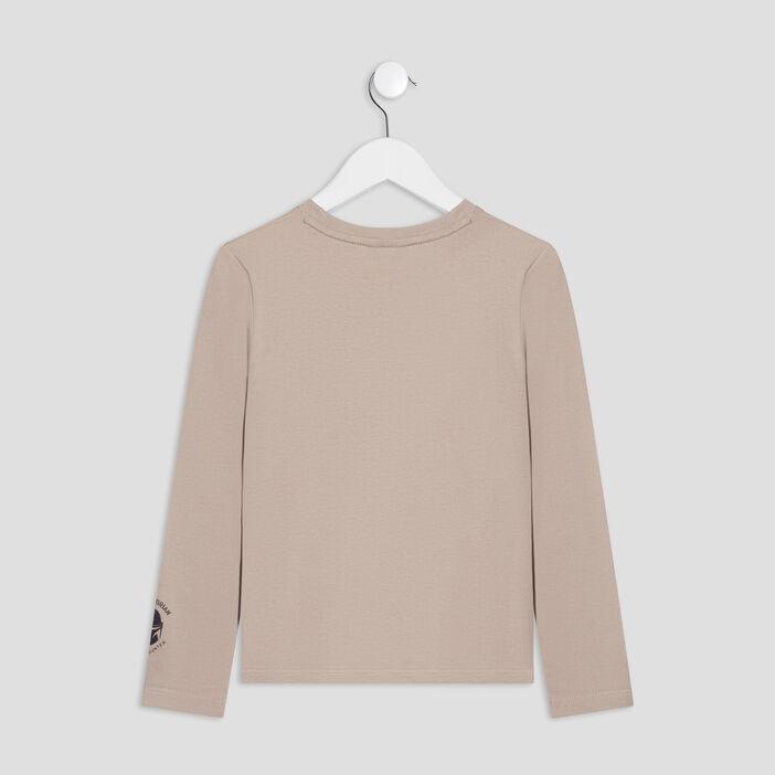 T-shirt The Mandalorian garçon beige