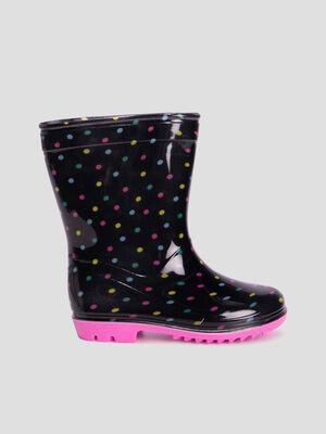 Bottes de pluie noir fille