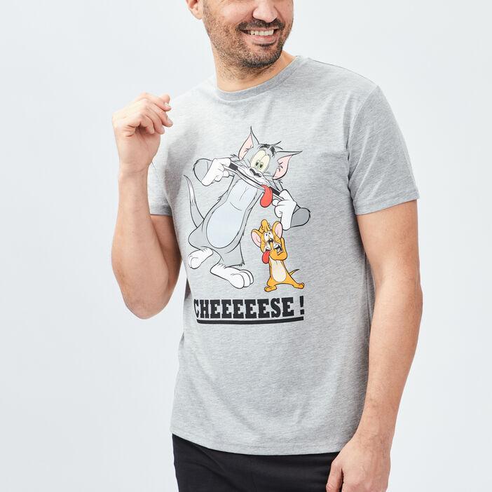 Ensemble pyjama Tom et Jerry homme gris clair