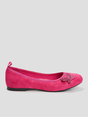Ballerines Creeks rose fille