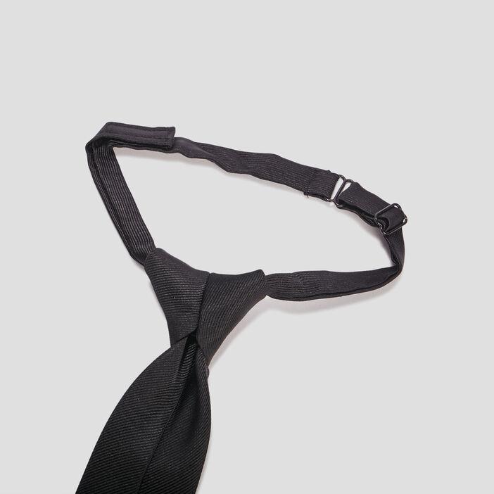 Cravate ajustable garçon noir