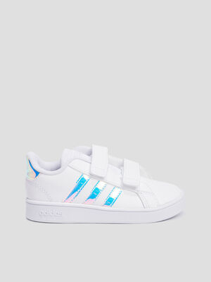 Baskets tennis Adidas blanc fille