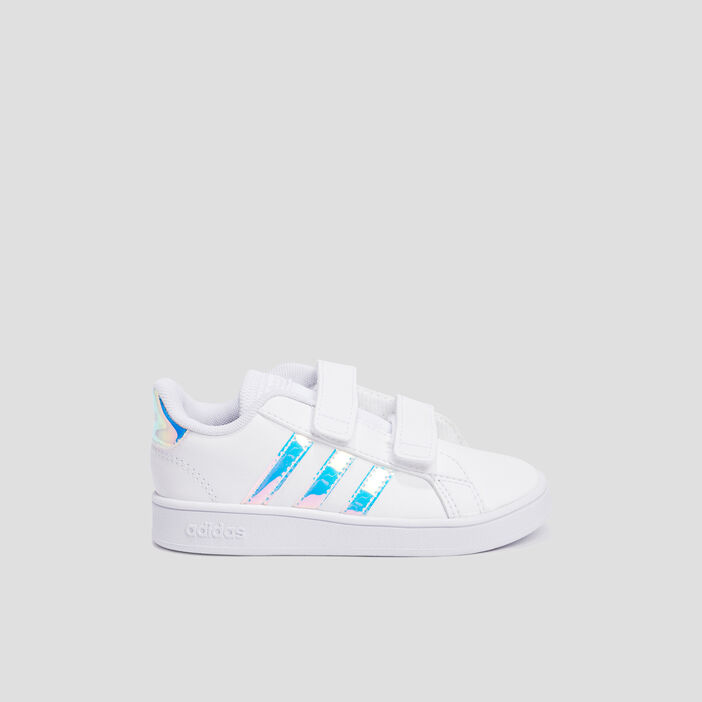 Baskets tennis Adidas fille blanc
