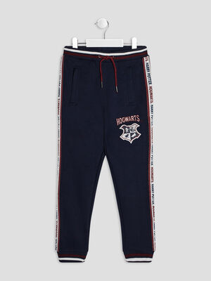 Pantalon jogging Harry Potter bleu marine garcon