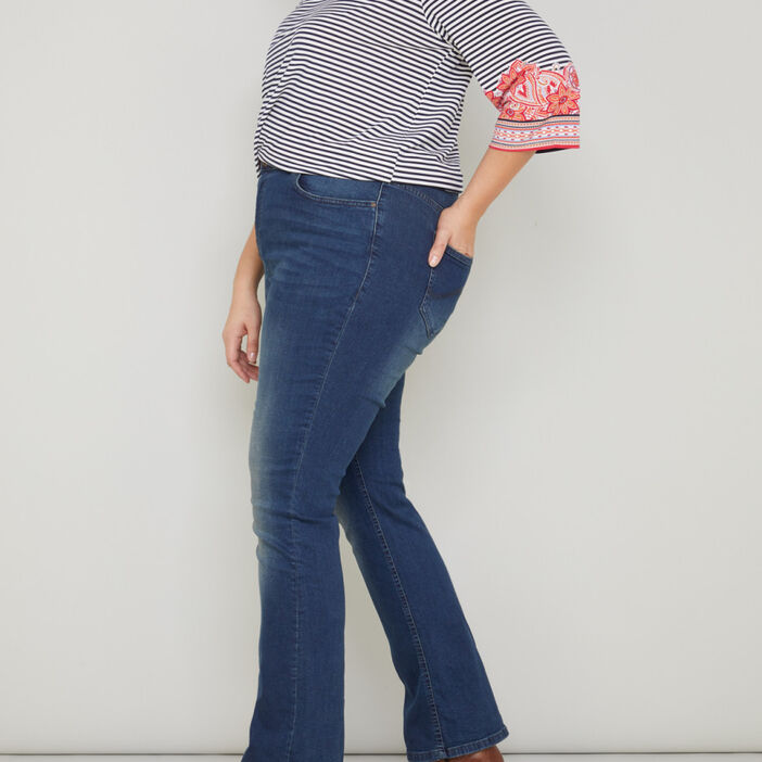 Jeans skinny grande taille femme grande taille denim dirty