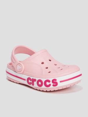 Sabots Crocs rose fille
