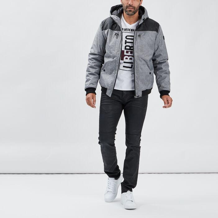 Jeans skinny Liberto homme denim noir