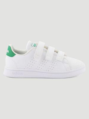 Tennis Adidas ADVANTAGE I blanc garcon