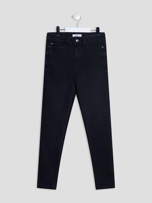 Jeans skinny denim noir fille