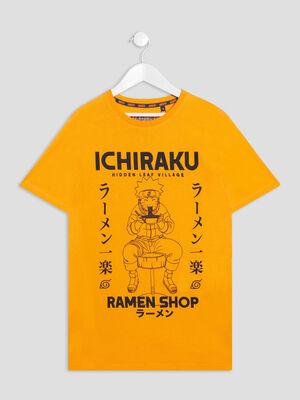 T shirt manches courtes Naruto orange garcon