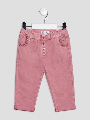 Pantalon slim violet clair bebef