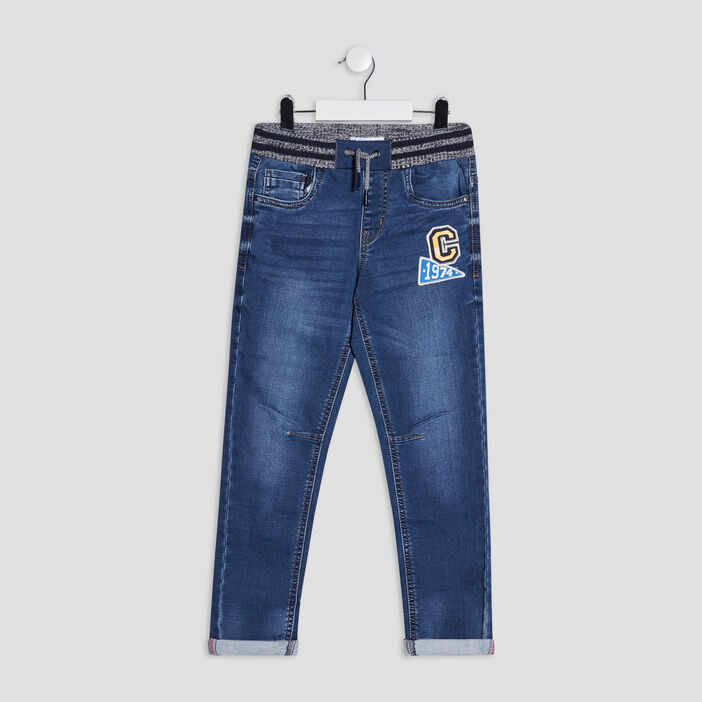Jeans straight Creeks garçon denim stone