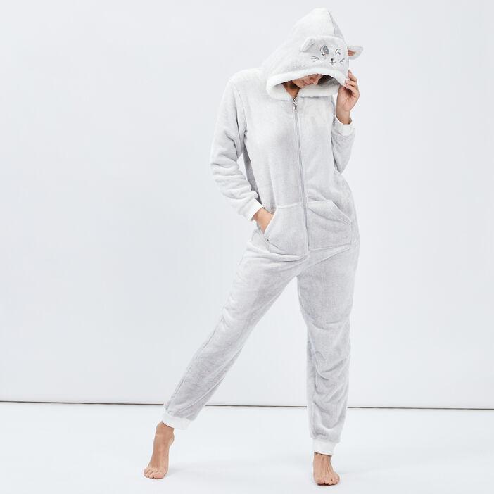Combinaison de pyjama femme taupe