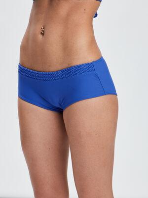 Bas de maillot de bain bleu roi femme