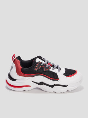 Runnings dad shoes blanc garcon