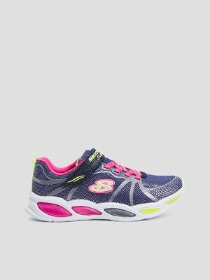 Runnings Skechers bleu marine garcon