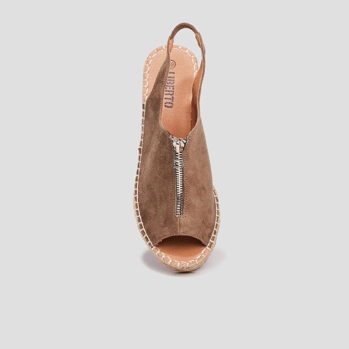 Sandales compensées Liberto femme vert