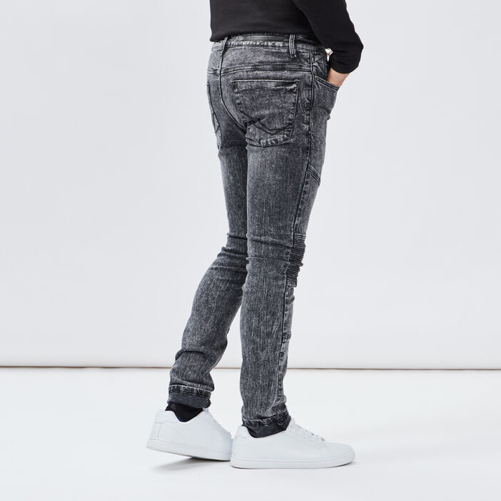 Jeans slim Liberto homme gris
