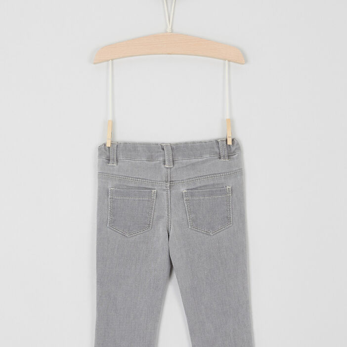 Jeans slim bébé garçon gris