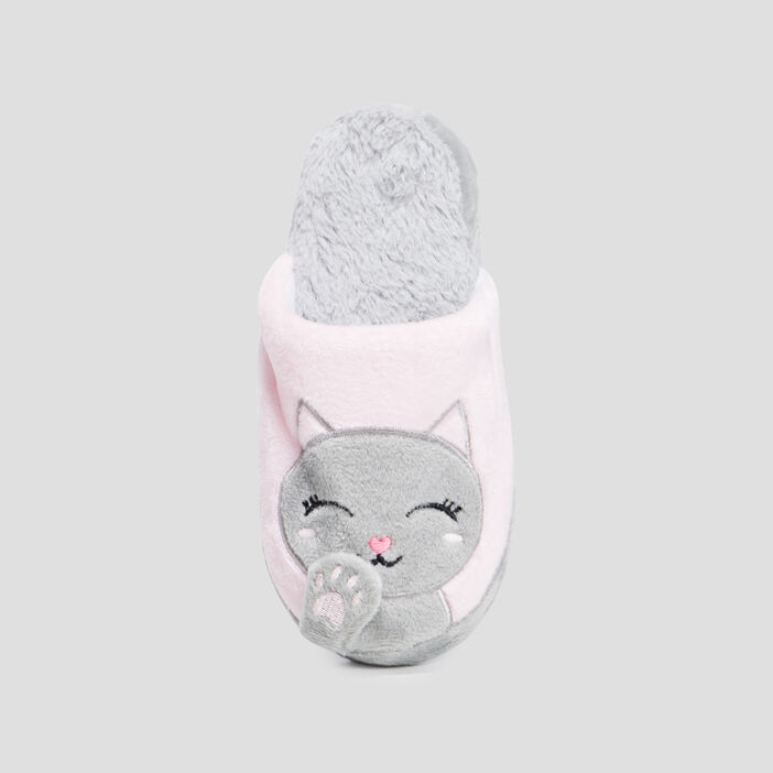 Chaussons mules  rose