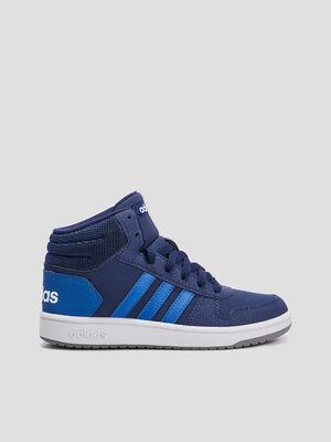 Tennis Adidas HOOPS MID 20 K bleu garcon