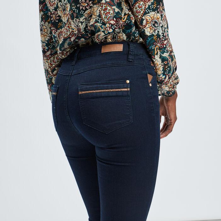 Jeans skinny femme denim brut
