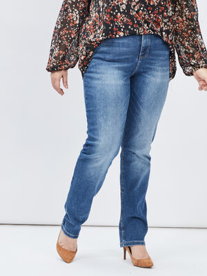 Jeans regular grande taille denim stone femmegt