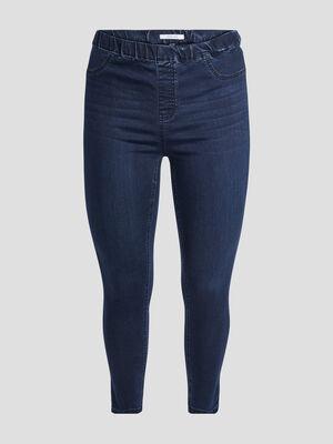 Pantalon jegging denim blue black femmegt
