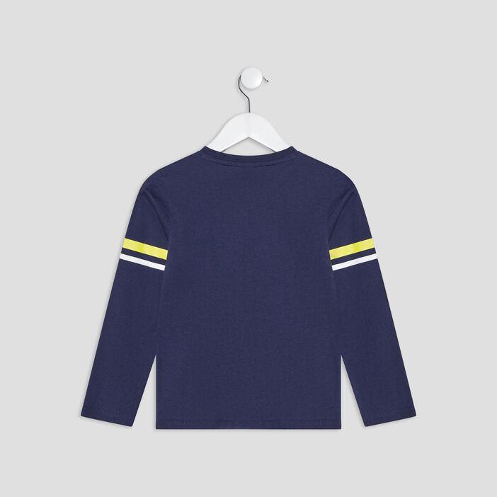 T-shirt Paw Patrol garçon bleu marine