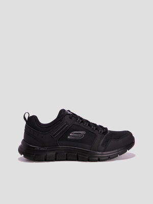 Baskets running Skechers noir homme