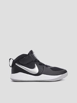 Baskets montantes Nike noir garcon