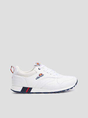 Baskets retrorunnings Ellesse blanc homme