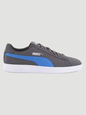 Tennis Puma SMASH BUCK gris homme