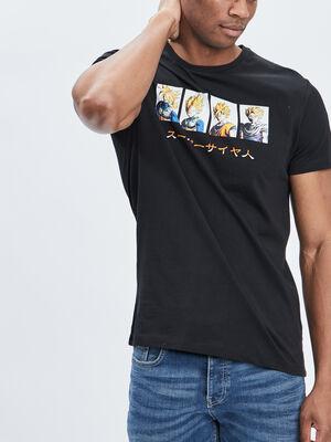 T shirt Dragon Ball Z noir homme