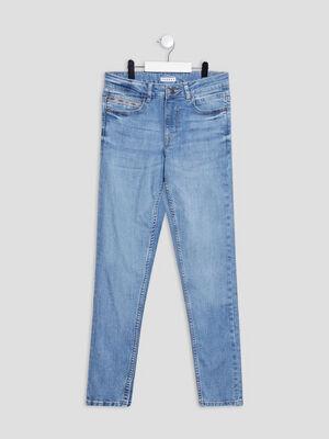 Jeans straight Creeks denim double stone garcon