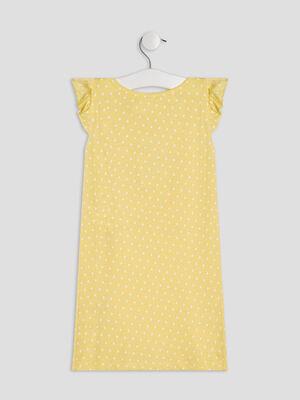 Chemise de nuit jaune fille