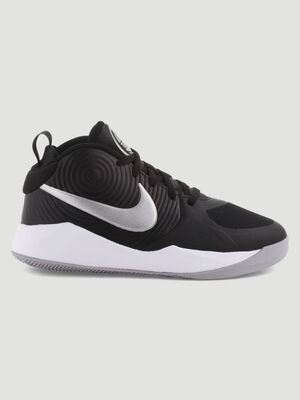 Baskets Nike TEAM HUSTLE noir garcon