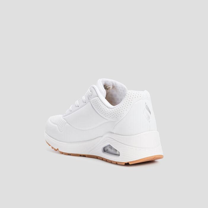 Runnings Skechers femme blanc