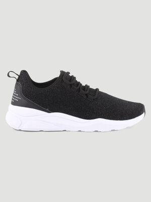 Runnings chaussettes pailletees noir femme
