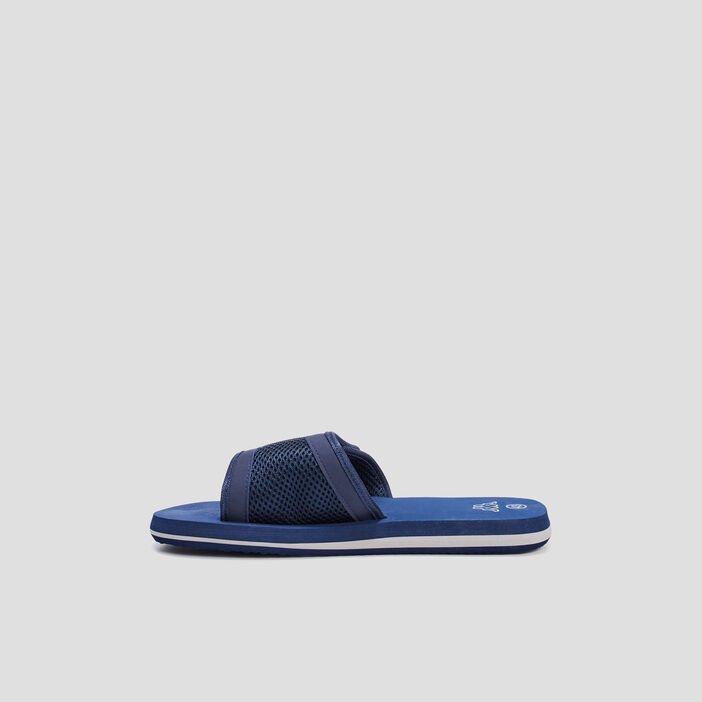 Claquettes Kappa homme bleu